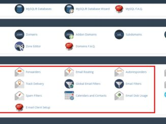 create an email account in cpanel how to create an email account in Cpanel cpanel email 326x245
