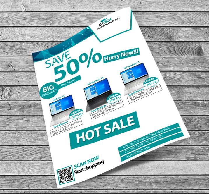 products fryer template New Month Sale Flyer Template Free PSD Download new month