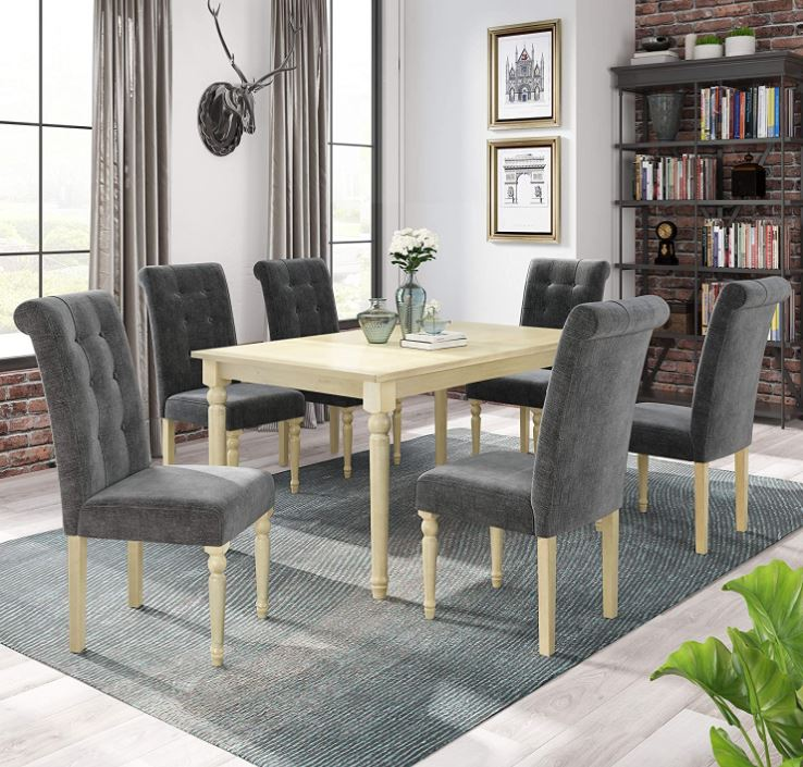 modern dining table set Top 10 modern Dining Table Chairs LZ LEISURE ZONE Dining Table Set 1