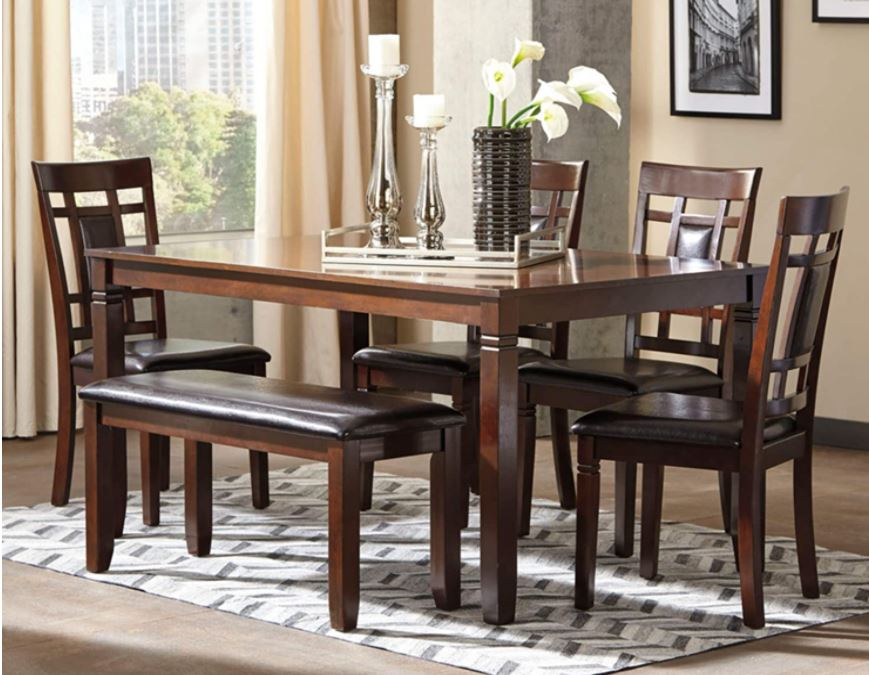modern dining table set Top 10 modern Dining Table Chairs ignature Design by Ashley Bennox Dining Room Table